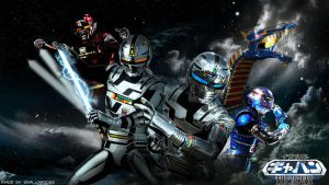 Space Sheriff Gavan The Movie Wallpaper by egallardo26