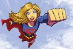Girl of Steel by Jorell-Rivera