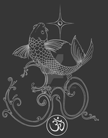 Koi Ohm - Shirt Design by endejester
