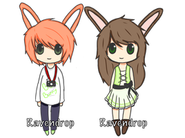 Bun bunny adopts :Closed: by Ravendrop
