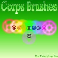 Corps Brushes by UltimeciaFFB