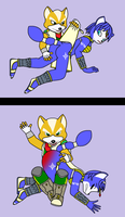 Fox spanks Krystal by 951oemorafla