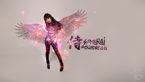 Samurai Foundation wallpaper.. by Mad-Red-Innocence