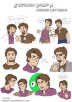Avengers Dump 5 by LauraDoodles