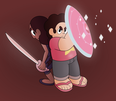 Steven Universe - That One Moment -- Shaded Ver. by PonyHD