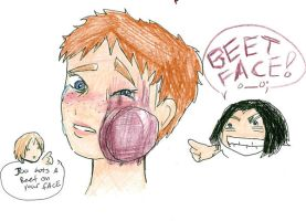 Beet FAce by notanotherzombie