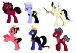 MLP FIM Disney Villanesses by kaoshoneybun