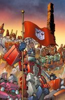 Transformers #50 Cover Colors by Teyowisonte