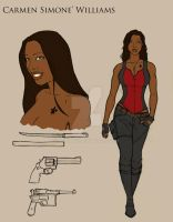 Carmen Williams (Flats) by J-C-Louis