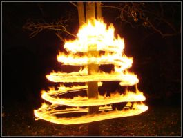 Spiralling Flames by george-kay