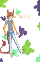 Nyan Color Splash by ForrestFoxes