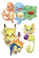 Pokemon Batch by Fran-foxxx
