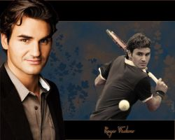 Roger Federer Wallpaper by Hututa