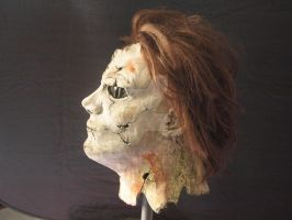 Micheal Myers Mask Side 2 by Fullmoon-rose