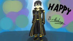 Sword Art Online Kirito Modified by Camcooney