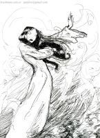 Girl in the wind by Ignifero