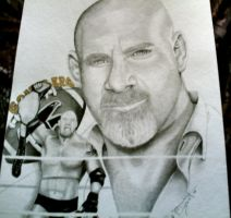 Bill Goldberg by remizart