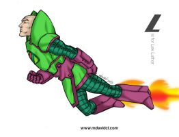 L is for Lex Luthor by mdavidct