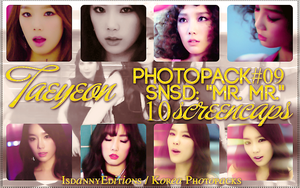 Taeyeon (SNSD) - PHOTOPACK#09 (SCREENCAPS) by JeffvinyTwilight