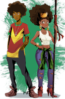 Cool African Commission by Zayarts