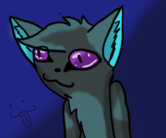 random cat thing by 0LightsOut1