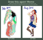 Draw this again Meme [Gracie] by 19bloom
