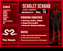 Scarlet Scarab Profile by Scarefire