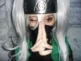 I'm seducing you - Kakashi Cosplay by ElectricBlossom