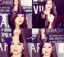 SELENA GOMEZ AT VMA 2013 by Ckipchip2k