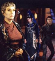 X'Zarreth and the Women of Vulcan {ST. ENT Theme} by Empress-XZarrethTKon