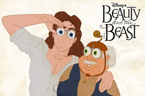Beauty and The Beast by Eyoha