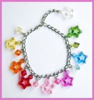 Stars Bracelet by cherryboop