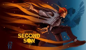 Delsin - Infamous Second Son by Spidertof