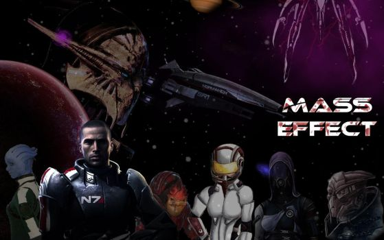 Mass Effect by gaara171