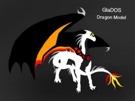 GlaDOS Dragon Model 1.0 by ShardianofWhiteFire