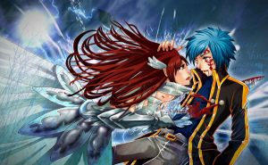 Erza X Jellal - Meant to say Goodbye by Vinca