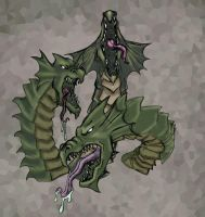 Hydra monster by Armacus