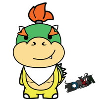 Bowser Jr by Zorkra403