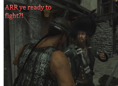 ARR YE READY TO FIGHT!? by Capt-HectorBarbossa