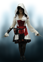 Assassins Creed Girl by LadyDark64