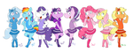 My Little Girly Ponies by Machu
