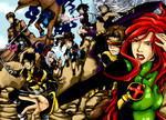 My x-men COLOURED by BlackMayo