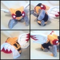 Ninjask plush! by LRK-Creations