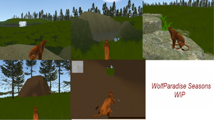 WolfParadiseSeasons FH Map Complete! by Unleashed89