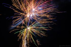 Fireworks in 2013 by mortenthoms