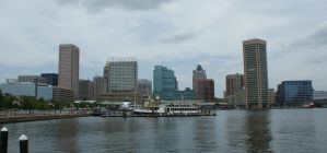 Downtown Baltimore Skyline by JamesT4
