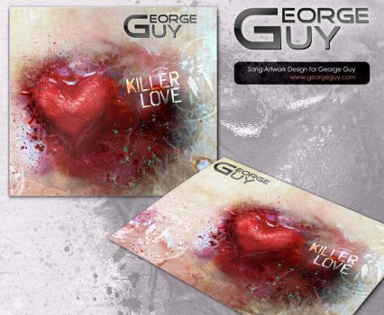 Killer Love, song artwork design for George Guy by Doppelgangers