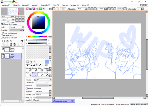 WIP - Yuri and me by cilisies
