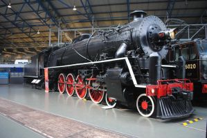 KF 4-8-4 steam locomotive by Party9999999