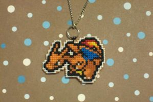 Charizard Necklace by xxEmofoxdemonxx